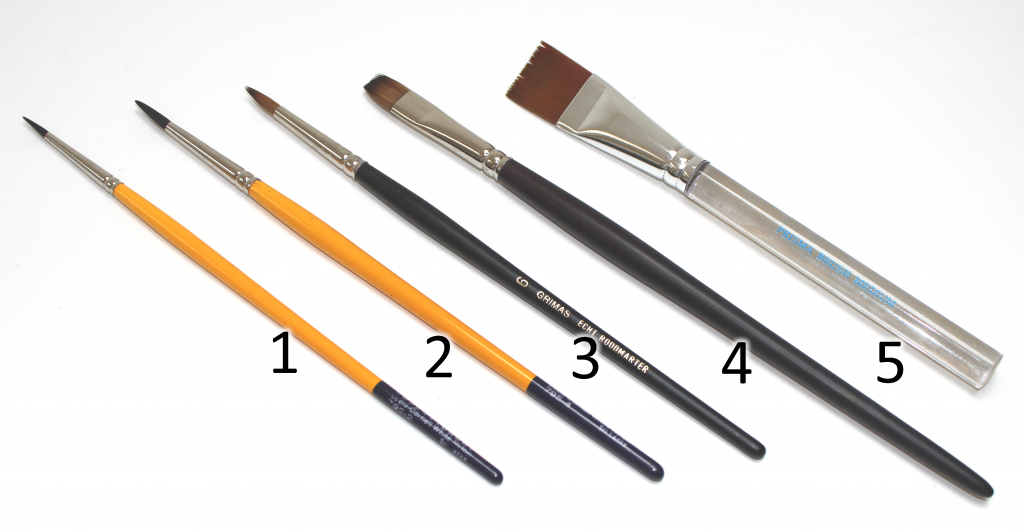 My current top 5 brushes