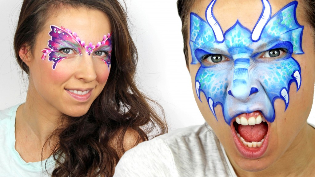 Face Painting Trainig - Flower Fairy & Dragon
